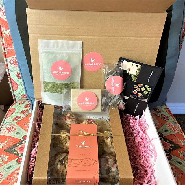 AT-HOME HIGH TEA WITH SUGARBIRD SWEETS & TEA
